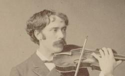Pablo de Sarasate,  cl. Fr. Hanfstaengl, Munich, 1884 - source : gallica.bnf.fr / BnF
