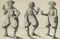 Sauvages amenez en France pour estre instruits dans la Religion Catholique, qui furent baptisez a Paris en l'eglise de St. Paul le XVII juillet 1613