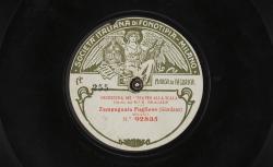 """Zampugnata Pugliese / Giordano, comp. ; l'Orchestre Del """"Teatro alla scala"""", R. Bracale, dir. - source : gallica.bnf.fr / BnF"""