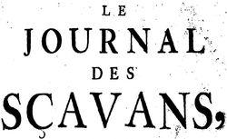 """Accéder à la page """"Journal des sçavans (Le)"""""""
