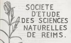 """Accéder à la page """"Société d'étude des sciences naturelles de Reims"""""""