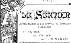 """Accéder à la page """"Sentier (Le)"""""""