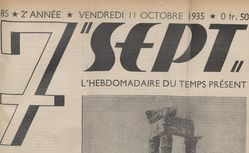 Sept : l'hebdomadaire du temps présent