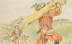 Sept d'un coup, encyclopédie enfantine, illustrée par Job, 1885-1887