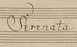 """Accéder à la page """"Serenata"""""""