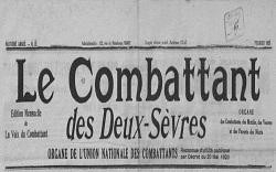 """Accéder à la page """"Combattant des Deux-Sèvres (Le)"""""""
