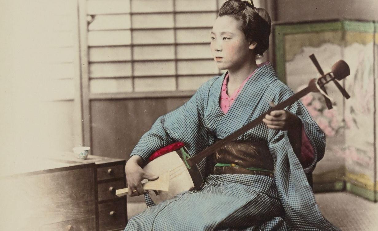 Shamisen R. Stiellfried. Japonais, 1877-78. SG WD-232 (RES) vue 21