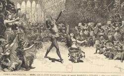 [Enregistrements sonores] / [Ballet] : Parigi, Eden-Théâtre, Sieba, ballo di Luigi Manzotti, musica dei maestri Marenco et Venanzi : una scena dell'Inferno : [estampe], 1883 - source : gallica.bnf.fr / BnF