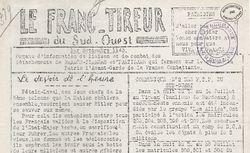 """Accéder à la page """"Franc-tireur du Sud-Ouest (Le)"""""""