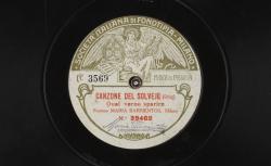 [Musique de scène] / Canzone del solvejg. Qual verno sparire / Grieg, comp. ; Maria Barrientos, S - source : gallica.bnf.fr / BnF