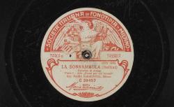 """La Sonnambula. Cavatina di Amina : Aria """"Come per me sereno"""" ; Bellini, comp. ; Maria Barrientos, S - source : gallica.bnf.fr / BnF"""