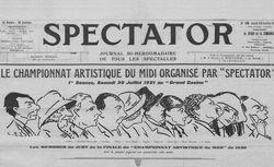 """Accéder à la page """"Spectator"""""""