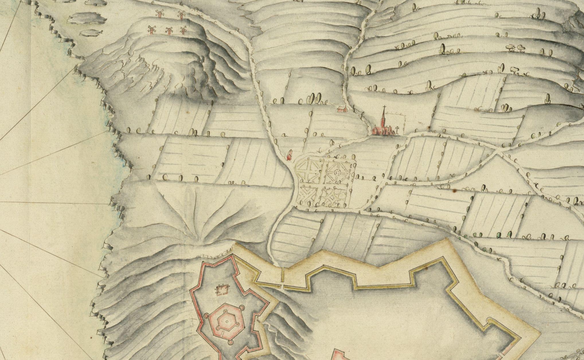 Plan de la Ville et Citadelle de St Troupes