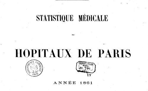 Statistique médicale des hôpitaux de Paris