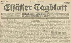 "Accéder à la page ""Elsässer Tagblatt"""