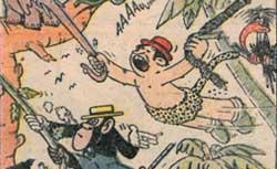 Zan-Zan alias Tar-Zan, Coq hardi, 17 mars 1949