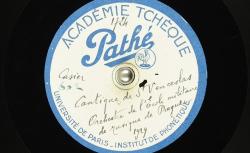 Cantique de St Venceslas / Hubert Pernot, collecteur ; Orchestre de l'Ecole militaire de musique de Prague (dir. Cdt Prokop Oberthor) - source : BnF/gallica.bnf.fr