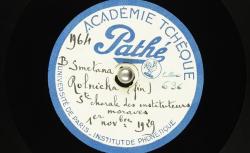 Rolnická : [chanson en tchèque] ; Hubert Pernot, collecteur ; Société Chorale des Instituteurs Moraves, dir. Ferdinand Vach - source : BnF/gallica.bnf.fr