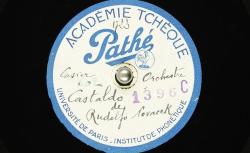 Castaldo / Rudolf Nováček, comp. ; Hubert Pernot, collecteur ; Orchestre de l'Ecole militaire de musique de Prague (dir. Cdt Prokop Oberthor) - source : BnF/gallica.bnf.fr