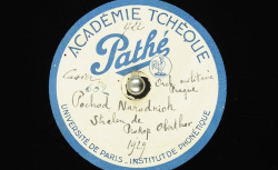 Strelen [Pochod Národních střelců] / Hubert Pernot, collecteur ; Prokop Oberthor, comp. ; Orchestre de l'Ecole militaire de musique de Prague (dir. Cdt Prokop Oberthor) - source : BnF/gallica.bnf.fr