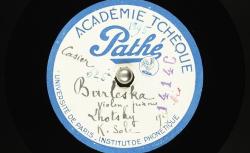Burleska / Josef Suk, comp. ; Boh. Lhotsky et Karel Šolc, violon et piano - source : BnF/gallica.bnf.fr