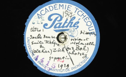 Double-danse de la Suite tchèque / Otakar Zich, comp. ; Hubert Pernot, collecteur ; Boh. Lhotsky et Fr. Pour, violon et violoncelle - source : BnF/gallica.bnf.fr