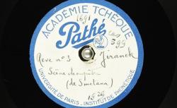 En Bohême. Scène champêtre, Ière partie (Smetana) / Hubert Pernot, collecteur ; Josef Jiránek, piano - source : BnF/gallica.bnf.fr