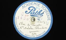 Olše [opus 66, 2] de J.B. Foerster / Hubert Pernot, collecteur ; Marianna Dubská-Schmidová, chant ; Jaroslav Zich, piano - source : BnF/gallica.bnf.fr