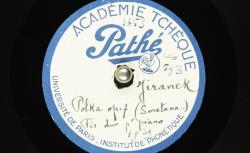 Polka op.7. Fis-dur, pour piano / B. Smetana, comp. ; Hubert Pernot, collecteur ; Josef Jiránek, piano - source : BnF/gallica.bnf.fr
