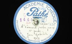 4e concert [B-dur] pour violon et piano / Hubert Pernot, collecteur ; Jan Kubelík, violon ; Oto Háša, piano - source : BnF/gallica.bnf.fr