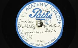 Hippodamie (1) / Hubert Pernot, collecteur ; Marie Laudová-Hořicová, voix ; Otokar Pařík, piano - source : BnF/gallica.bnf.fr
