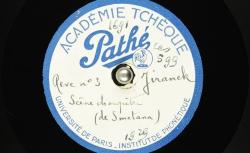 [Enregistrement sonores] Rêve n°3. [En Bohême]. Scène champêtre, Ière partie (Smetana) / Hubert Pernot, collecteur ; Josef Jiránek, piano - source : Bnf / gallica.bnf.fr
