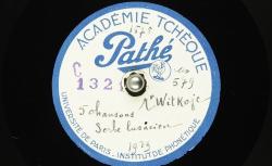 [Enregistrement sonore] Cinq chansons en serbe lusacien ; Hubert Pernot, collecteur ; Melle Mina Witkojc, chant - source : BnF/gallica.bnf.fr