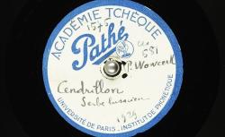 [Enregistrement sonore] Cendrillon [Popjelnča] : [conte en serbe-lusacien] ; Hubert Pernot, collecteur ; Pawo Wowčeŕk, voix parlée - source : BnF/gallica.bnf.fr
