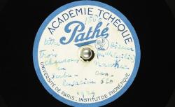 [Enregistrement sonore] Trois chansons en serbe lusacien / Hubert Pernot, collecteur ; Cecilia Nawkec, chant - source : BnF / gallica.bnf.fr