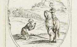 [Enregistrements sonores]. , Les images des saints. [345-348] Quatre-vingt-septième planche : septembre : estampe / Jacques Callot - source : BnF / gallica.bnf.fr