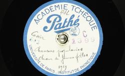 Chansons populaires [à troix voix] / Hubert Pernot, collecteur ; choeur de jeunes filles - source : BnF/gallica.bnf.fr