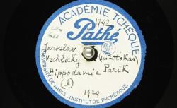 Hippodamie (1) ; Hippodamie (2) / Hubert Pernot, collecteur ; Jaroslav Vrchlický, auteur ; Marie Laudová -Hořicová, interprète ; Otakar Pařík, piano - source : BnF/gallica.bnf.fr