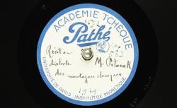 Récit en dialecte des montagnes slovaques / Hubert Pernot, collecteur ; M. Matěj Pitoňak, interprète - source : BnF/gallica.bnf.fr