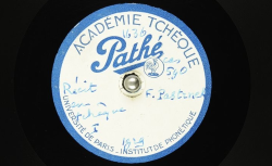 Récit en tchèque [De l'éducation populaire en Tchécoslovaquie] / Hubert Pernot, collecteur ; František Pastrnek, voix parlée - source : BnF/gallica.bnf.fr