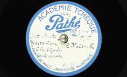 Introduction historique à la chimie minérale / Hubert Pernot, collecteur ; Dr. Emil Votoček, voix parlée - source : BnF/gallica.bnf.fr