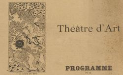"""Accéder à la page """"Théâtre d'art"""""""