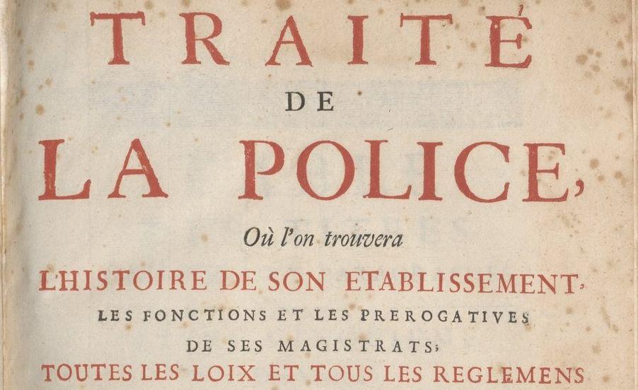 La Mare, Nicolas de (1639-1723)