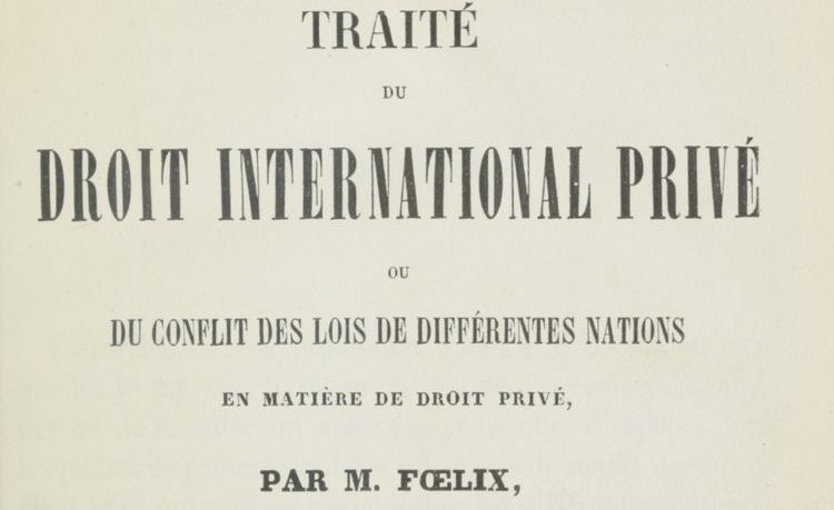 Foelix, Jean Jacques Gaspard (1791-1853)