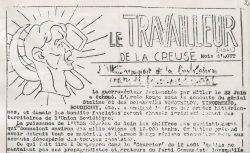 """Accéder à la page """"Travailleur de la Creuse (Le)"""""""