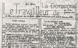 """Accéder à la page """"Travailleur de la Dordogne (Le)"""""""