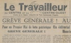 """Accéder à la page """"Travailleur du Centre et du Centre-Ouest (Le)"""""""