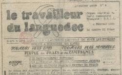 """Accéder à la page """"Travailleur du Languedoc (Le)"""""""