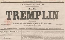 """Accéder à la page """"Tremplin (Le)"""""""