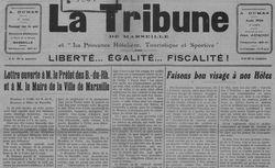 """Accéder à la page """"Tribune de Marseille (La)"""""""